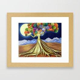 Grace in Full Bloom Framed Art Print