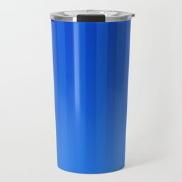 Gradient Stripes Pattern ib Travel Mug