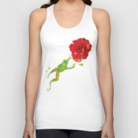 frog Tank Tops featuring Frog by Lazy bEE
