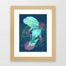 Humanimal holger Framed Art Print