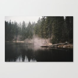 In the Fog - Landscape Photography Canvas Print