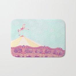 Carousel Dream Mint Bath Mat