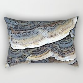 Turkey Tail Fungi Rectangular Pillow