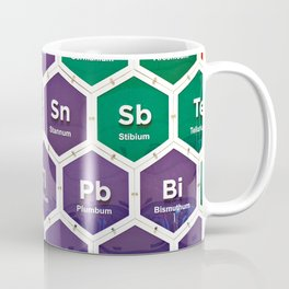 Elements of periodic table Coffee Mug