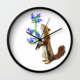Take Time To Smell The Flowers by Teresa Thompson Wall Clock