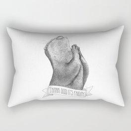 Thank God It's Friday Rectangular Pillow