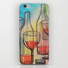 Abstract wine art / Friday Night iPhone Skin