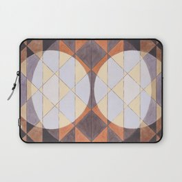Triangles and Circles Pattern no.24 Laptop Sleeve