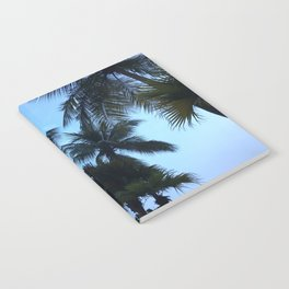 Palm trees at Sunway Lagoon Resort, Malaysia Notebook