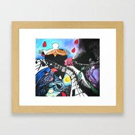 Carrion Crow Framed Art Print