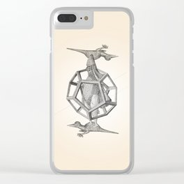 Caged Merman Clear iPhone Case