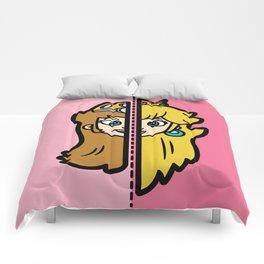 Old & New Princess Peach Comforters