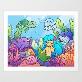 Sea Cuties Art Print