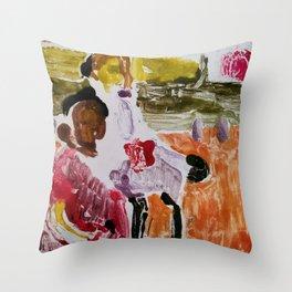 Bronx Cousins Throw Pillow