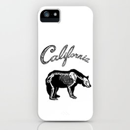 Golden State XRAY iPhone Case