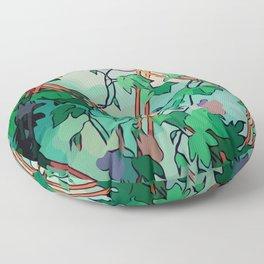Enchant Botanical Dream Garden Floor Pillow