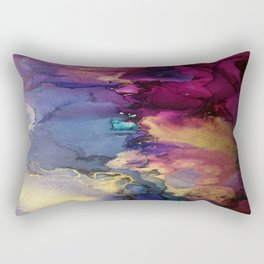 Pour your art out in pink Rectangular Pillow