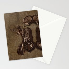 The Big HD - Rustic Grunge Art Print Stationery Cards