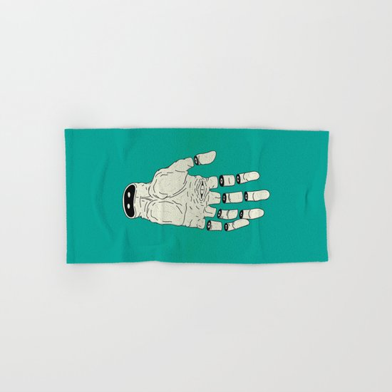 THE HAND OF DESTINY / LA MANO DEL DESTINO Hand & Bath Towel