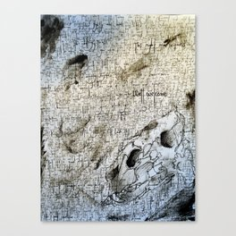 Core of the Lioness Canvas Print