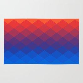 Polygonal Rainbow Rug