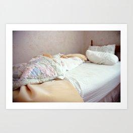 Bed I Art Print