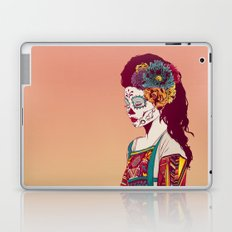 Mexican Skull Lady Laptop & iPad Skin