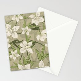 Anaina Hou Hawaiian Tropical Floral Stationery Cards