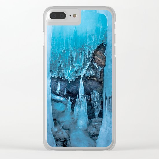 The Ice Palace Clear iPhone Case
