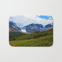 View along the Wilcox Pass Hike in Jasper National Park, Canada Bath Mat
