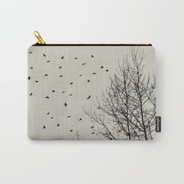 Come On Home - Graphic Birds Series, Plain - Modern Home Decor Carry-All Pouch
