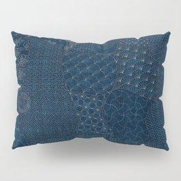 Sashiko - random sampler Pillow Sham