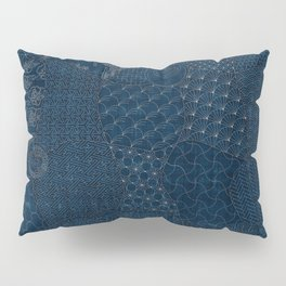 Sashiko - random sampler Pillow Sham