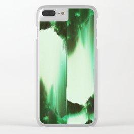 Green, Reversi Clear iPhone Case