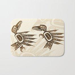 Dancing Ravens Bath Mat
