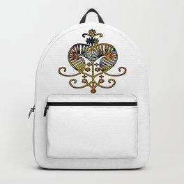 Oshun Goddess Veve Sigil Backpack