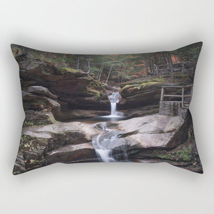 Sabbaday Falls in Autumn 2016 Rectangular Pillow