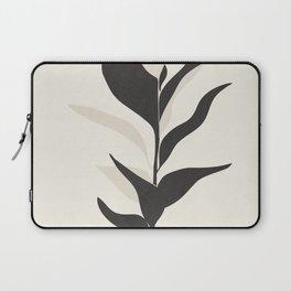 Abstract Minimal Plant Laptop Sleeve