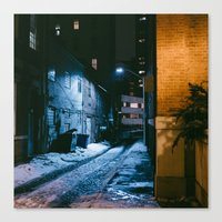baltimore Canvas Prints featuring Baltimore by Nick Coleman