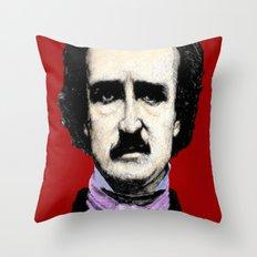Voter Poe Throw Pillow