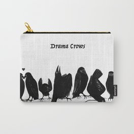Drama Crows Carry-All Pouch