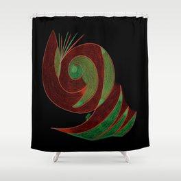 Aura I Shower Curtain