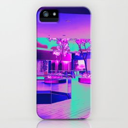 Retro Retail Realm iPhone Case