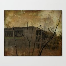 Grungy Old Shed Canvas Print