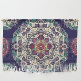Colorful Mandala Pattern 007 Wall Hanging