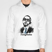 obama Hoodies featuring Obama Swag by mMel