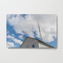 tower to the sky Metal Print