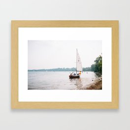 Lake Calhoun Framed Art Print