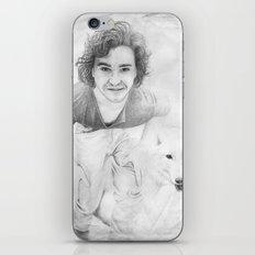 JON AND GHOST iPhone & iPod Skin