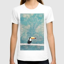 toucano tropical blue T-shirt